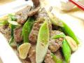 青蒜炒猪肝